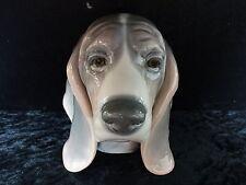 C1990s Retired Lladro Figure - Beagle (Dog) Head