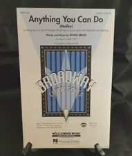 Anything You Can Do Medley Learn to Sing Voice Vocals SATB Sheet Music Book