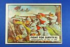 """1962 Topps Civil War News - #33 """"Fight For Survival"""" - VG Condition"""