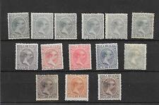 ULTRAMAR 1896/7  EDIFIL 140/53*  CAT 195  EUROS