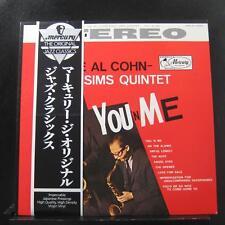 Al Cohn - Zoot Sims Quintet - You 'N Me LP Mint- EXPR-1001 Japan Vinyl w/ OBI