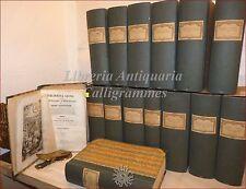 Richard-Giraud: BIBLIOTHÈQUE SAINT 1854 Diz. Ecclesiast.15 voll Asso.