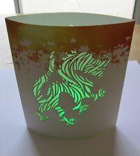 LED Lantern/Nightlight DRAGON -Multi Color Lights battery oper.-change color