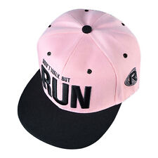 Fashion Adjustable Unisex Hip Hop Bboy Baseball Hat Snapback Cap Men Women Cool