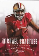 Michael Crabtree 2013 Panini Prestige Football Trading Card, #171