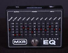 MXR Ten Band EQ Equalizer 18v Guitar Effects Pedal 10 M108