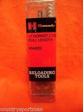 HORNADY Reloading Tools 17 Hornet (.172) Full Length Die #046202