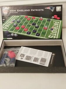 MasterPieces NFL New England Patriots Checkers Board Game Set, For 2 Players, Ag