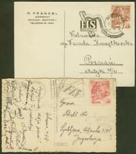 Poland 1939 card/Skiing stamp, cancel, signatures
