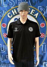Chelsea (Champions League) Official Adidas Football Polo Shirt (Adult Large)