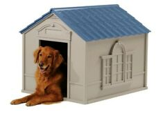 Suncast Indoor And Outdoor Dog House For Large Breeds