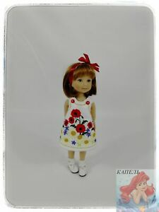 """The dress """"POPPY-2"""" for girls is intended for 8 inch"""