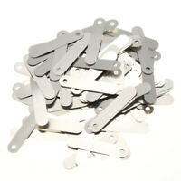 100 Pcs 2.5 x 0.5cm SPCC Nickel DIY Solder Tabs For 18650 14500 AA Sub C Battery