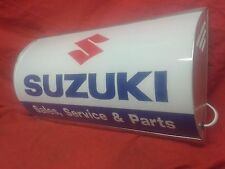 Suzuki, Lightup, firmar pantalla iluminada, Clásico,, MANCAVE, garaje, cobertizo, Bandido, Bicicleta