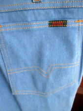 32x30 True Vtg 80's REED SOFT DENIM STRAIGHT DISCO ERA POCKET JEANS USA