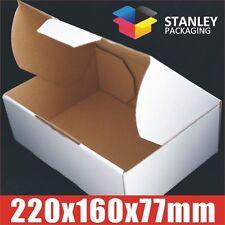 100 x Mailing Box Diecut 220x160x77mm A5 BX1 B1 Shipping Cardboard Carton boxes
