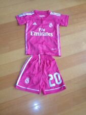 EQUIPACION NIÑO REAL MADRID JAMES