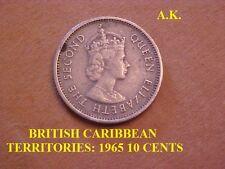 BRITISH CARIBBEAN TERRITORIES: 1965 10 CENTS