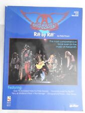 Aerosmith - Riff by Riff - Over 70 annotated note-for-note Excerpts PB  RARE