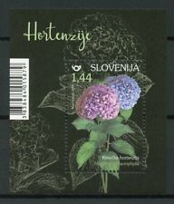Slovenia 2019 MNH Hydrangeas Bigleaf Hydrangea 1v M/S Flower Nature Stamps