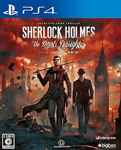 Sherlock Holmes Devil's Daughter PS4 Inter glow Sony PlayStation 4 From Japan