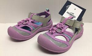 Osh Kosh B'gosh Kani Bump Toe Sandal Purple Lavendar Toddler Girl  Sz 6