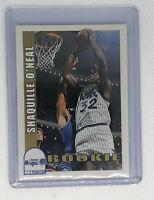 1992-93 NBA HOOPS Shaquille O'Neal Rookie Card RC Orlando Magic # 442