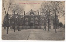Vintage Postcard Macomb Illinois McDonough Co Farm