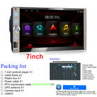 """7"""" 2DIN Android 10.0 Touch Screen Car FM Radio Stereo GPS MP5 Player WiFi 1G+16G"""