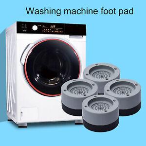 4 Pcs Universal Rubber Washing Machine Mat Anti-Vibration Non-Slip Support AU