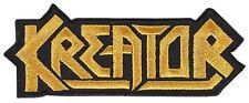 KREATOR - Logo - Aufnäher / Patch - gestickt - Neu #3961