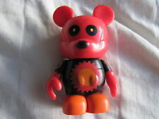"DISNEY VINYLMATION Urban Series 5 Red and Black Gear Bear Vinylmatio 3"" Figurine"