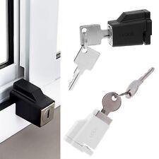 Aluminium Sliding Window Restrictor Lock Child Kid Proof Safety Keys Keyed Alike