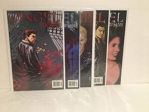ANGEL: OLD FRIENDS #1,2,3,4,5 Complete Series IDW Comics Buffy Vampire Slayer