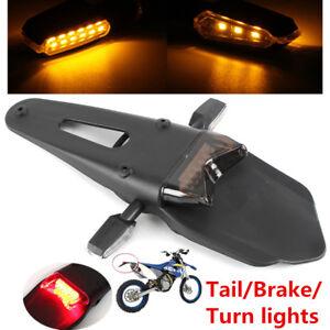 12V Universal Motorcycle Fender LED Brake Tail Light + 2X9LED Turn Signal Light
