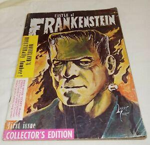 Castle of Frankenstein Magazine #1 January 1962