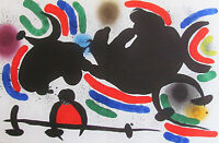 MIRO - LITHOGRAPH IV - ORIGINAL LITHOGRAPH - 1975 - FREE SHIPPING IN THE US  !!!
