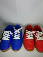Supra Stack Tk Society Mens Shoes Skate Casual Low Sneakers Blue & Red sz 7.5