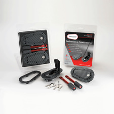 AeroCatch Flush Locking Carbon Look 125-3100