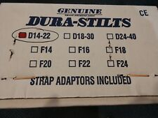 Dura-Stilts Drywall Stilts 14 to 22 inch Height
