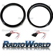 """VW Lupo Speaker Adaptor Kit (1999-2005) Rings Spacers 165mm 6.5"""" Front Door"""