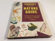 1955 Hammond's Illustrated Nature Guide by E. L. Jordan PH.D. With 232 Paintings