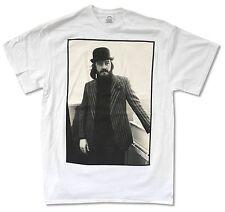 John Bonham Standing Photo White T Shirt New Official Led Zeppelin Drummer