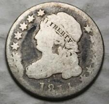 United States 1814 Silver Dime, Capped Bust