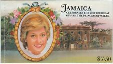 Jamaica 1982 SG#SB17 Princess Of Wales 21st Birthday Complete Stamp Booklet MNH