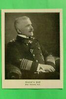 UM1) Marine Admiral von Pohl 1914-1918 uneingeschränkter U-Boot Krieg 1.WK WWI