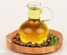 Herbal Castor Oil Hexane Free Cold Pressed Pure Vegan 100 to 1000ml Free Ship