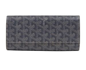 GOYARD - GRAY PORTEFEUILLE WALLET - ACCESSORIES - COATED CANVAS