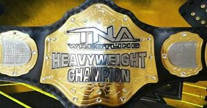 TNA WORLD HEAVYWEIGHT CHAMPIONSHIP REPLICA BELT TOTAL NON STOP ACTION TITLE 2mm