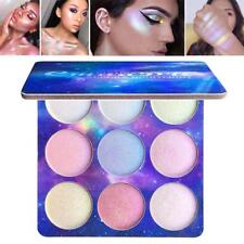9 Colors Contour Face Glow Concealer Highlight Giltter Eyeshadow Makeup-Palette